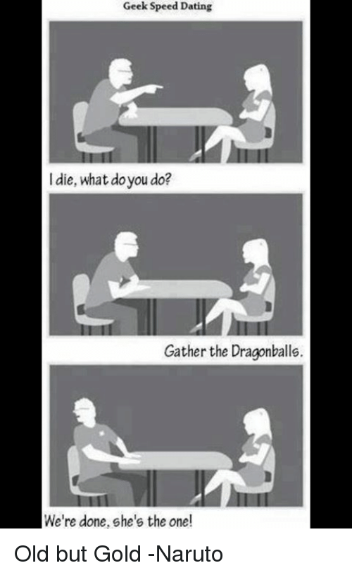 Geek speed dating meme generator
