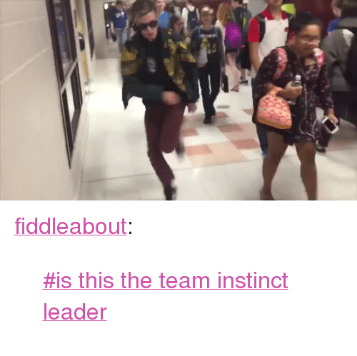"""Team Instinct: <p><a class=""""tumblr_blog"""" href=""""http://fiddleabout.tumblr.com/post/148343761368"""">fiddleabout</a>:</p> <blockquote> <p>  <a href=""""https://www.tumblr.com/tagged/is-this-the-team-instinct-leader"""">#is this the team instinct leader</a>  <br/></p> </blockquote>"""