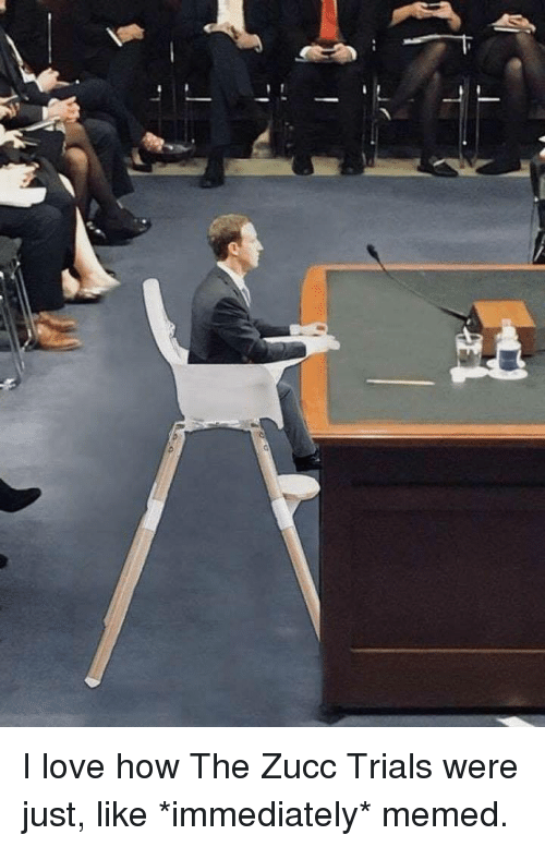 Memed: <p>I love how The Zucc Trials were just, like *immediately* memed.</p>