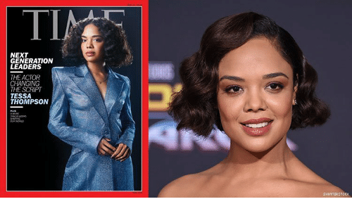 next generation: ΤΙ  TIN  NEXT  GENERATION  LEADERS  THE ACTOR  CHANGING  THE SCRIPT  TESSA  THOMPSON  MORE  TRALRAERS  SHAG  woRLO  SHUTTERSTOCK