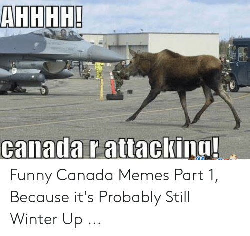 Funny Canada: АНННН!  canada r attackina! Funny Canada Memes Part 1, Because it's Probably Still Winter Up ...