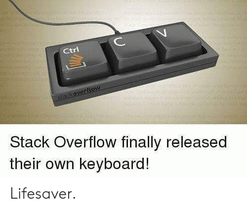 Keyboard: ИИНН  C  Ctri  tackoverflow  Stack Overflow finally released  their own keyboard! Lifesaver.