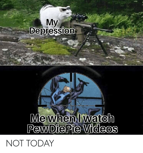 Iwatch: Мy  Depression  Me when Iwatch  PewDiePie Videos NOT TODAY