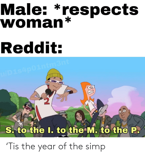 year: 'Tis the year of the simp
