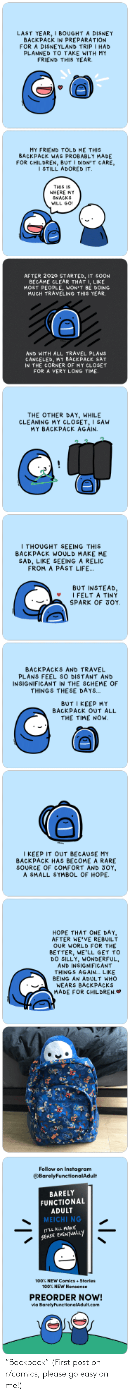 "easy: ""Backpack"" (First post on r/comics, please go easy on me!)"