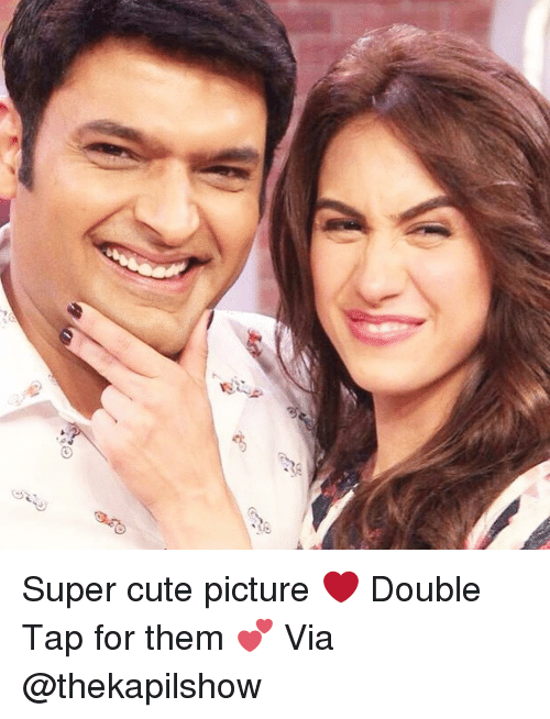 Dekh Bhai, International, and Taps: ら  ,嗯梦 Super cute picture ❤️ Double Tap for them 💕 Via @thekapilshow