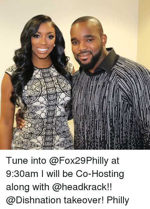 Phillied: ーーーーー Tune into @Fox29Philly at 9:30am I will be Co-Hosting along with @headkrack!! @Dishnation takeover! Philly