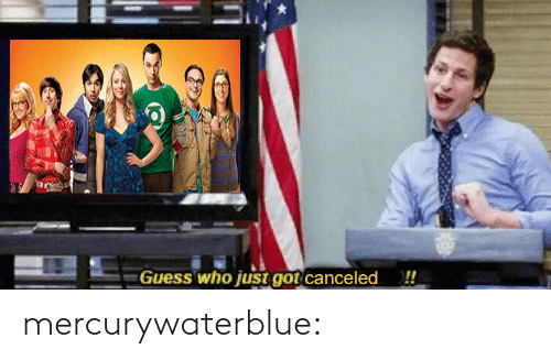 Just Got: ーGuess who just got·Canceled  !! mercurywaterblue: