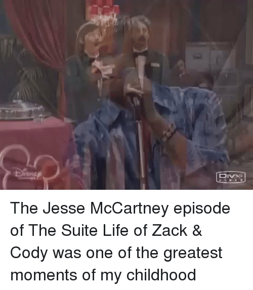 Funny, Suits, and The Suite Life of Zack & Cody: 只 The Jesse McCartney episode of The Suite Life of Zack & Cody was one of the greatest moments of my childhood