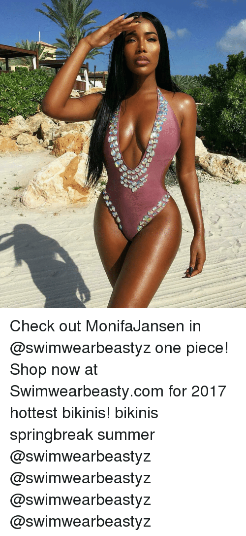 one piec: 녁 Check out MonifaJansen in @swimwearbeastyz one piece! Shop now at Swimwearbeasty.com for 2017 hottest bikinis! bikinis springbreak summer @swimwearbeastyz @swimwearbeastyz @swimwearbeastyz @swimwearbeastyz