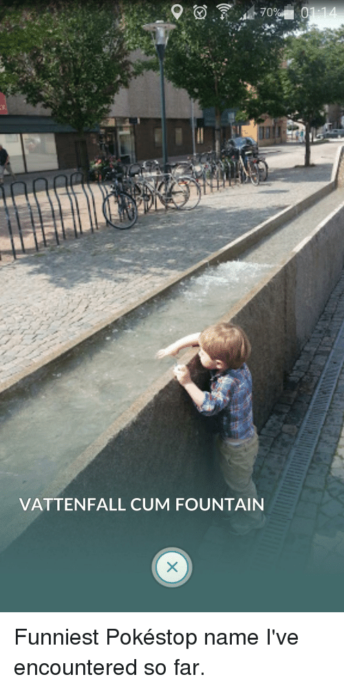 Cum, Funny, and Vattenfall: 01:14 70% VATTENFALL CUM FOUNTAIN Funniest