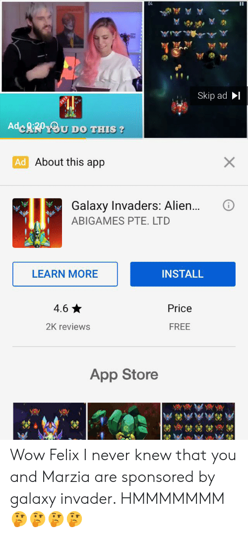 04 Skip Ad AdeRfyOu Do THIS? Ad About This App X Galaxy