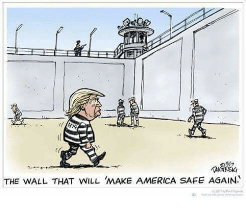 walle: 1  THE WALL THAT WILL MAKE AMERICA SAFE AGAIN.