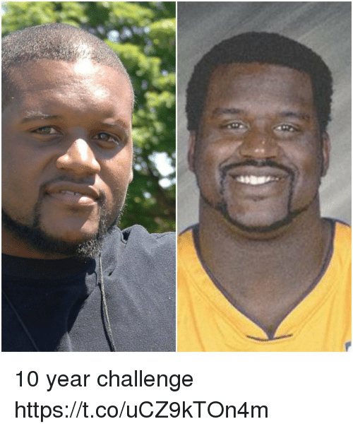 Memes, 🤖, and Challenge: 10 year challenge https://t.co/uCZ9kTOn4m