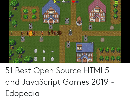 165 10 51 Best Open Source HTML5 and JavaScript Games 2019