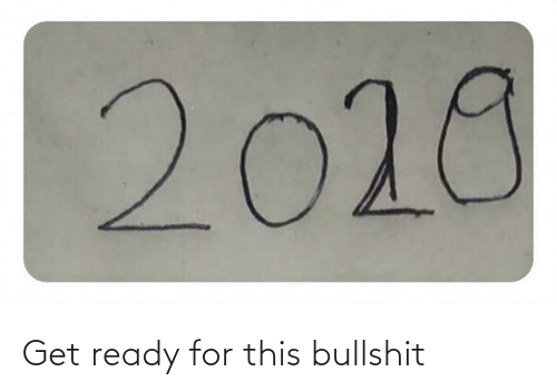 Ready For This: 2028 Get ready for this bullshit