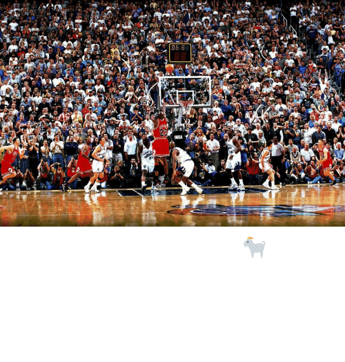 Hearts: 22 years ago today, 🐐 broke the hearts of all these Jazz fans https://t.co/MjAQBbjCq6