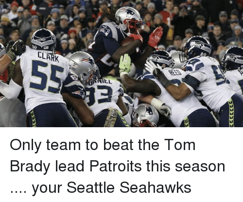 Seattle Seahawks: 2222222  Em Only team to beat the Tom Brady lead Patroits this season .... your Seattle Seahawks