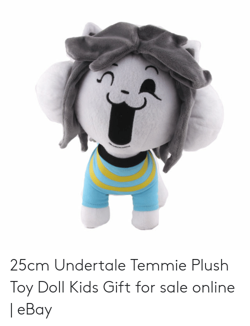 25cm Undertale Temmie Plush Toy Doll Kids Gift for Sale Online