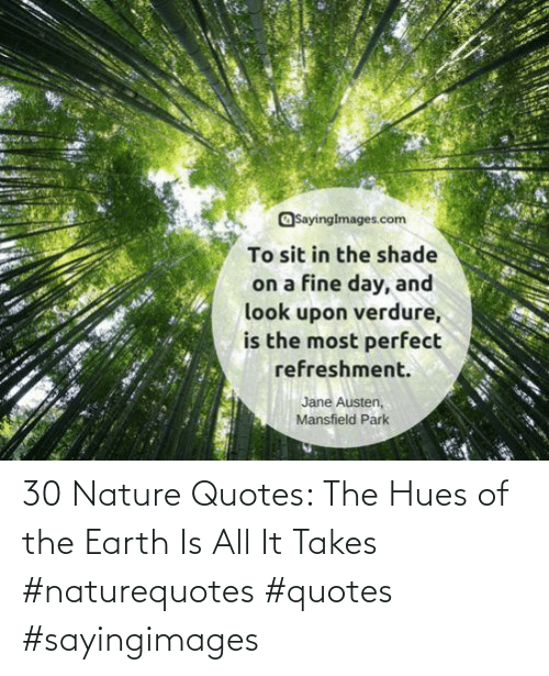 Quotes: 30 Nature Quotes: The Hues of the Earth Is All It Takes #naturequotes #quotes #sayingimages