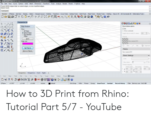3d Print Open 10136 KB - Rhinoceros Commercial 64-Bit