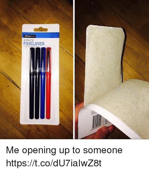 4 Pack: 4 PACK Me opening up to someone https://t.co/dU7iaIwZ8t