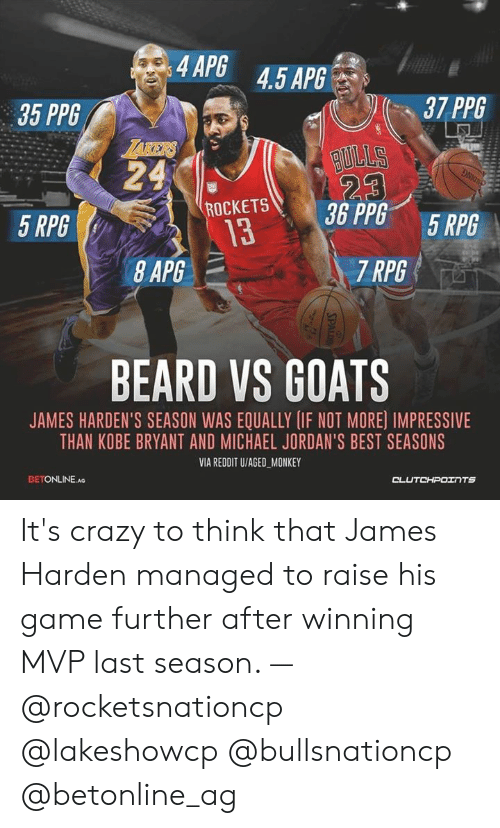 4APG 45 APG 35 PPG 37 PP6 Sus 5 RPG 13 7 RPG BEARD VS GOATS JAMES