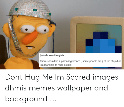5 Just Shower Thoughts There Should Be A Parenting Licence Some People Are Just Too Stupid Or Irresponsible To Raise A Child Dont Hug Me Im Scared Images Dhmis Memes Wallpaper And Background