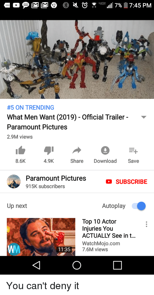 5 on trending what men want 2019 official trailer