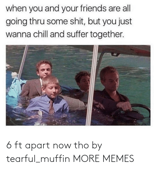 Apart: 6 ft apart now tho by tearful_muffin MORE MEMES