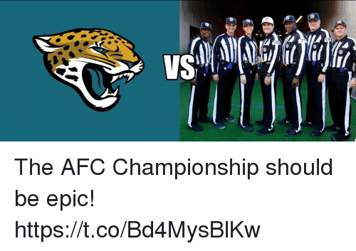 Afc Championship: 71  VS The AFC Championship should be epic! https://t.co/Bd4MysBlKw