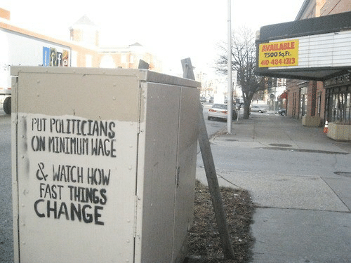 Watch, Change, and Politicians: 7500 Sq-Ft.  484-1313  PUT POLITICIANS  1 & WATCH HO  FAST THINGS  CHANGE