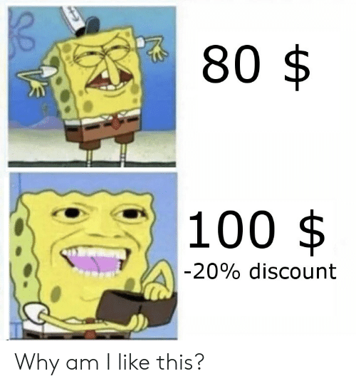 Why Am I Like This: 80 $  |100  $  -20% discount Why am I like this?