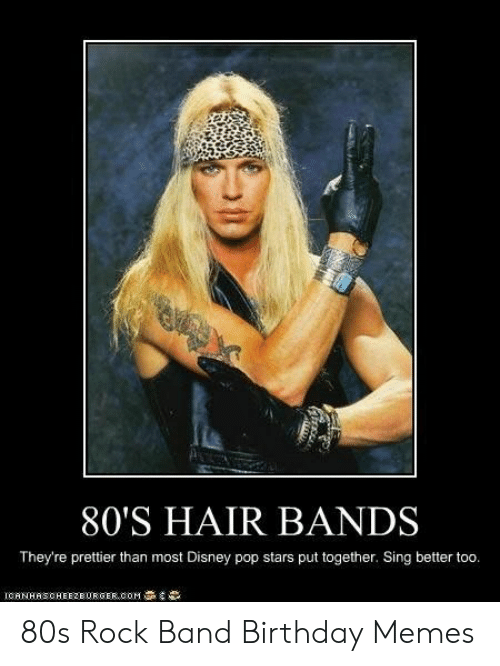 80 S Hair Bands They Re Prettier Than Most Disney Pop Stars