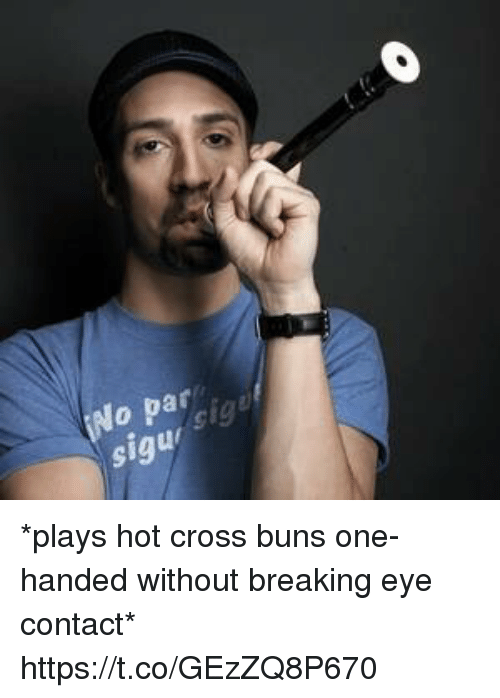 Memes, Cross, and 🤖: 9 *plays hot cross buns one-handed without breaking eye contact* https://t.co/GEzZQ8P670