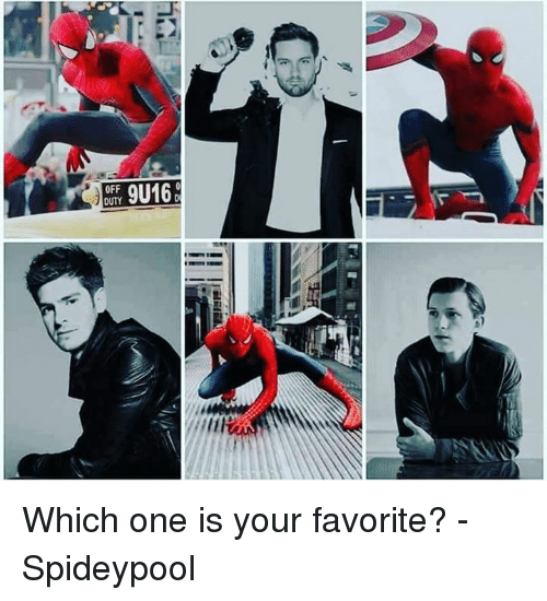 Spideypool: 9U16  OFF Which one is your favorite? - Spideypool