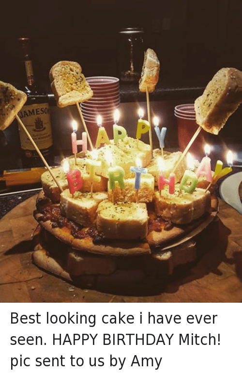 Birthday Happy And Best AMESO Looking Cake I Have Ever Seen