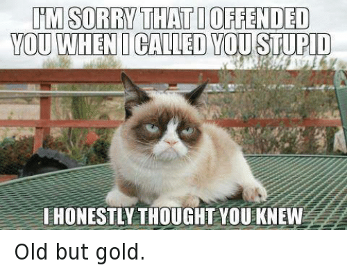 But Gold