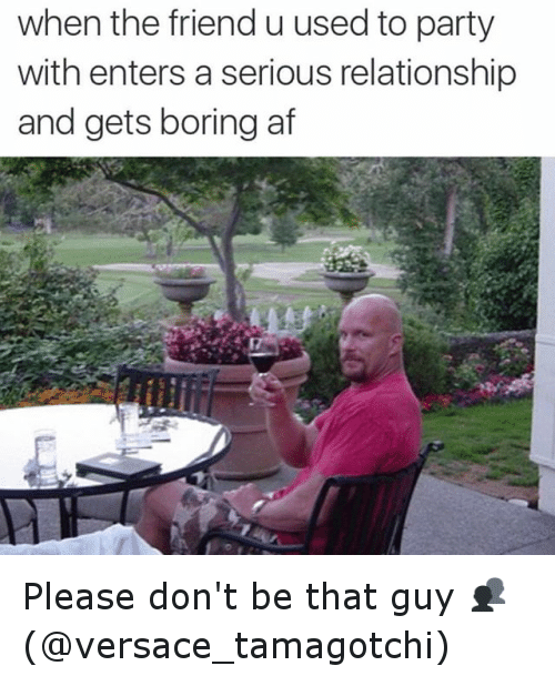 Serious Relationships