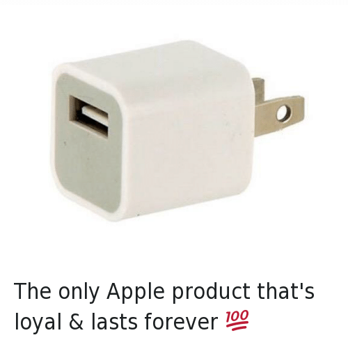 You Loyal: The only Apple product that's loyal & lasts forever 💯