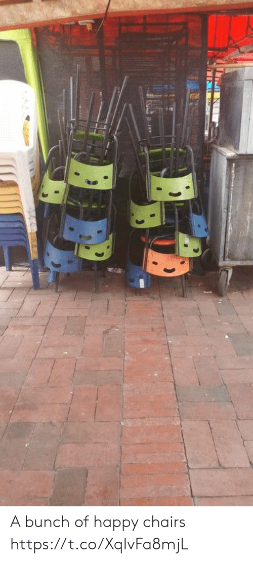 Happy, Faces-In-Things, and Chairs: A bunch of happy chairs https://t.co/XqIvFa8mjL