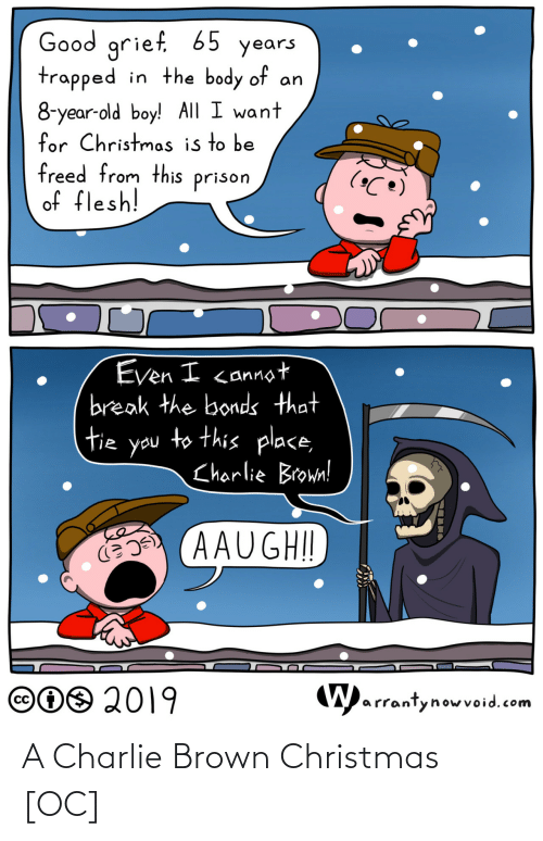 Charlie: A Charlie Brown Christmas [OC]