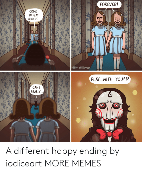 Ending: A different happy ending by iodiceart MORE MEMES