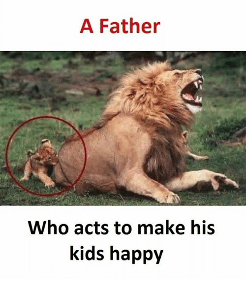 Kidsings: A Father  Who acts to make his  kids happy