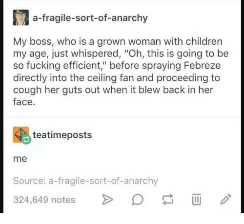 A-Fragile-Sort-Of-Anarchy My Boss Who Is a Grown Woman With Children