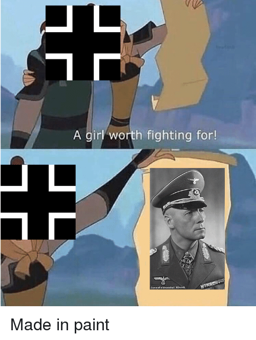 Girl, History, and Paint: A girl worth fighting for!  Generalleldmarschall ROMMEL