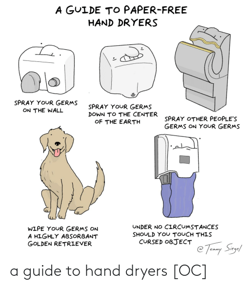 guide: a guide to hand dryers [OC]