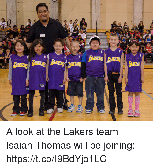 Los Angeles Lakers, Sports, and Isaiah Thomas: A look at the Lakers team Isaiah Thomas will be joining: https://t.co/I9BdYjo1LC