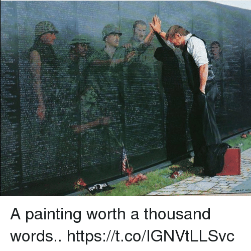 Memes, 🤖, and Words: A painting worth a thousand words.. https://t.co/IGNVtLLSvc