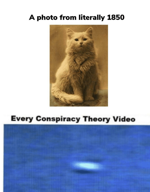 Conspiracy: A photo from literally 1850  Every Conspiracy Theory Video